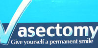 Vasectomy - give yourself a permananent smile